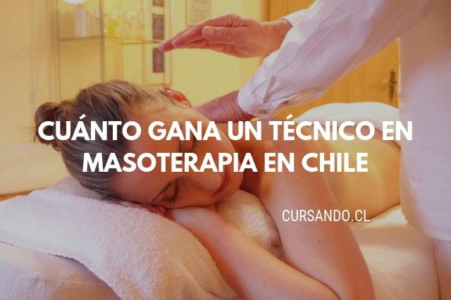 campo laboral masoterapia en chile