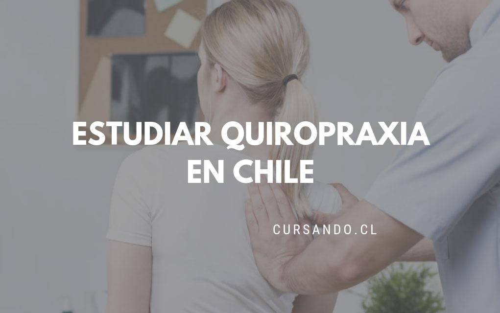 donde estudiar quiropraxia en chile