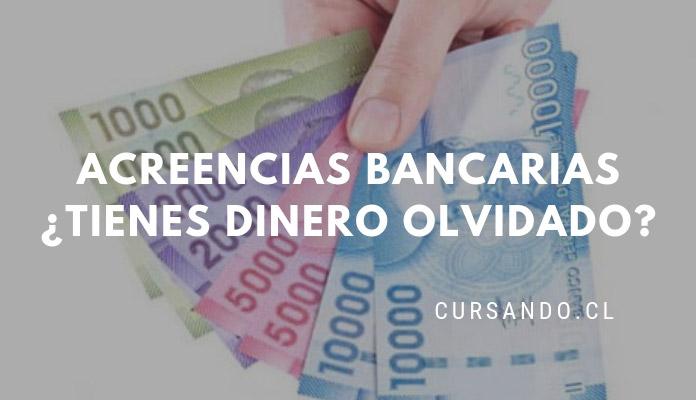 buscador de acreencias bancarias