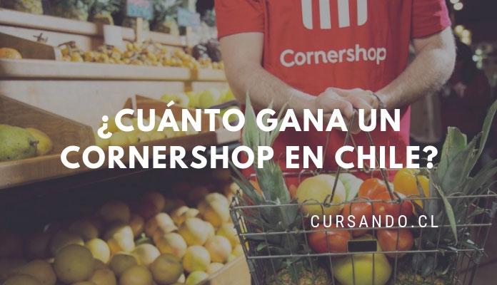 cuanto gana un corner shop en chile