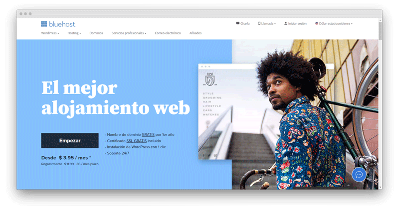 bluehost chile