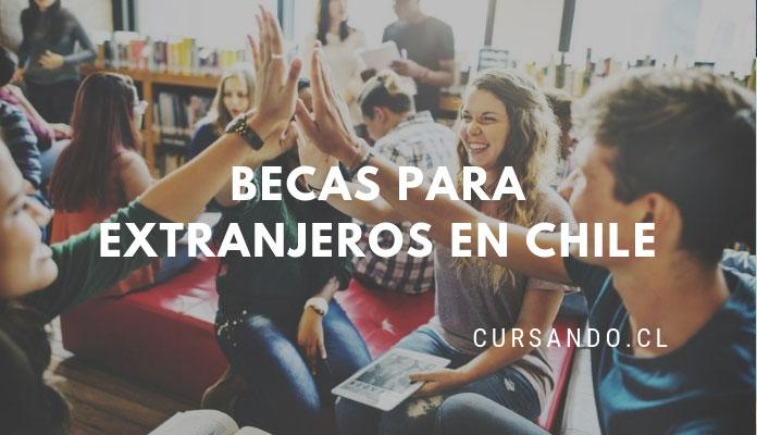 becas para estudiantes extranjeros en chile