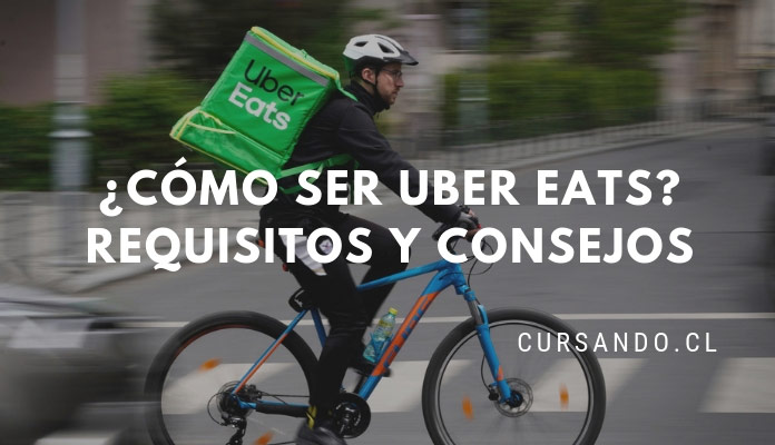 como ser uber eats chile
