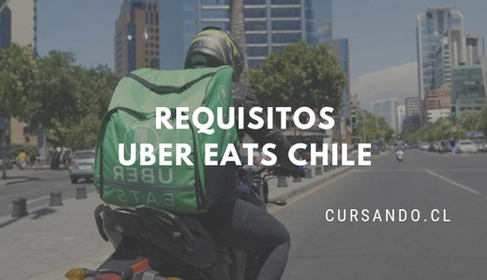 requisitos uber eats chile