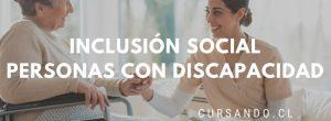 Inclusión social de personas con discapacidad