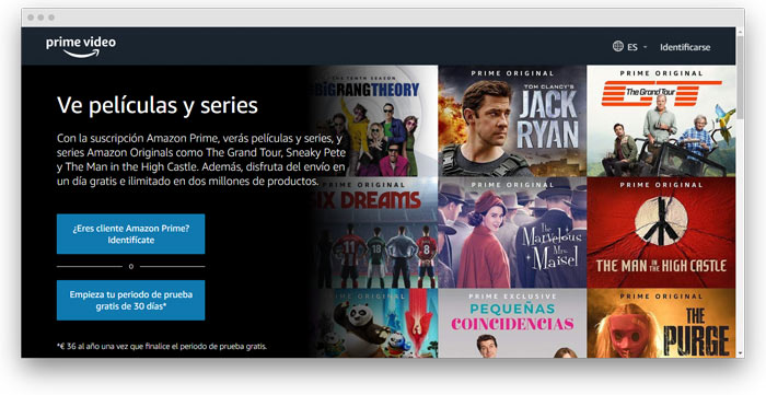 amazon prime video chile