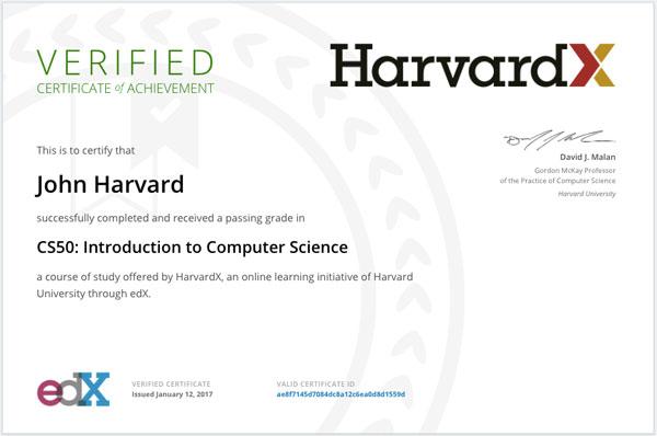 certificado de edx vale la pena