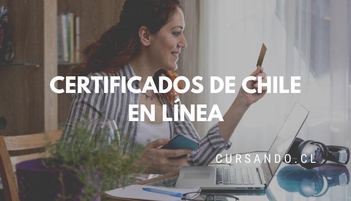 certificados de chile online