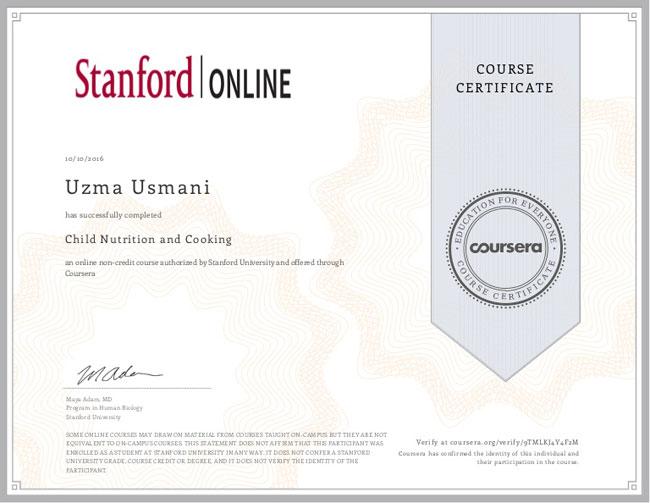 cursos de nutricion certificados